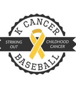 K Cancer Baseball